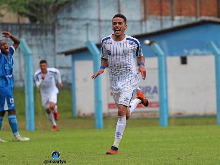 Campeão da Copinha com o São Paulo, Thiaguinho celebra fase artilheira no Avaí