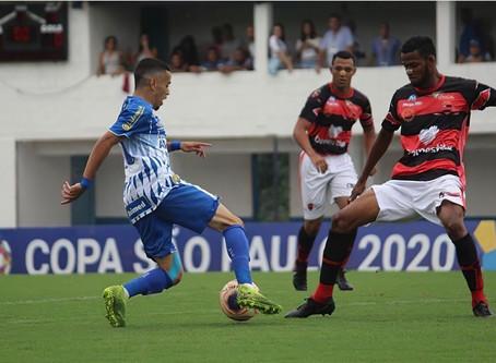 Camisa 10 e destaque na Copinha, Thiaguinho é promovido ao profissional do Avaí e celebra nova fase