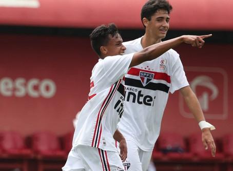 Com gol e assistência, Luiz Henrique comanda classificação do São Paulo no Paulista sub-15
