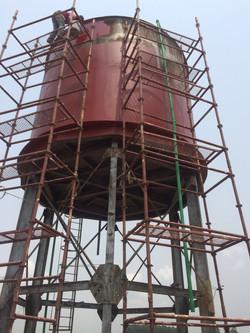 Château d'eau en réhabilitation