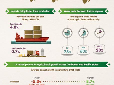 Infographie sur l'agriculture