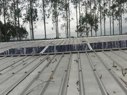 Energie solaire pour le garage