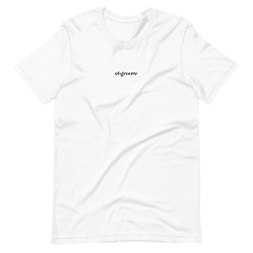 Camiseta Blanca - Logo Bordado