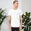 Thumbnail: Camiseta Blanca - #1 Gris Oscuro