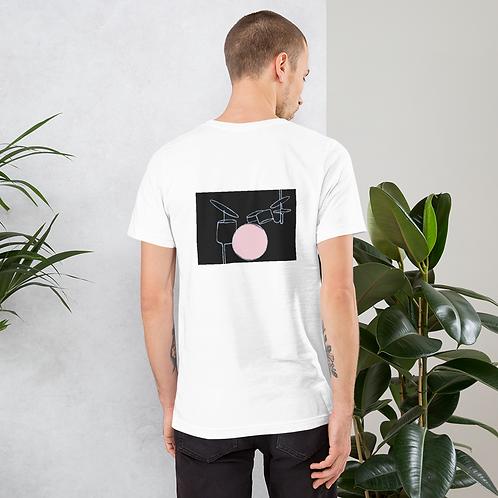 Camiseta Blanca - #1 Gris Oscuro
