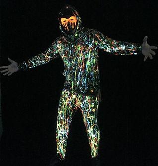UV Splatter Costume
