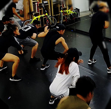 Event Entertainment Australia - Wildfire Rehearsal