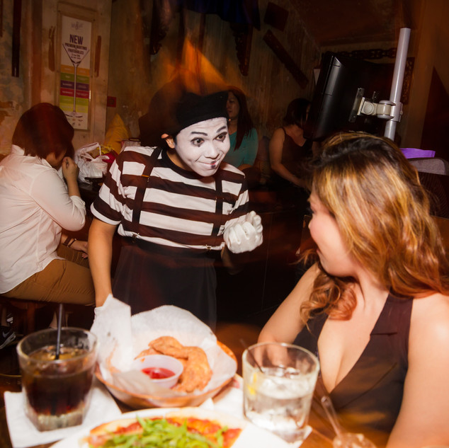 Roving Mime