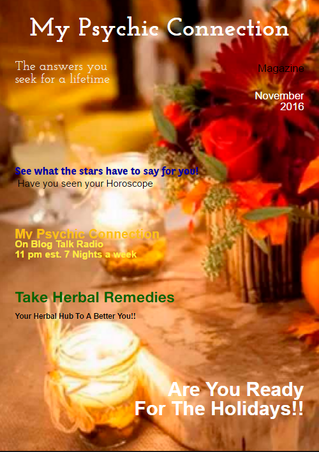 Check Out My Psychic Connection Magazine November Issue...