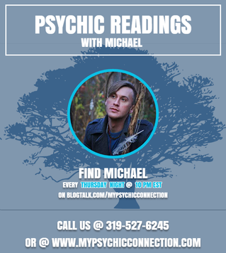Free Psychic Readings with Michael Thursday Night @ 10 pm est On Blog Talk Radio!!!