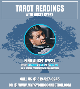 Free Tarot Readings with Auset Gypsy Tonight @ 10 pm est