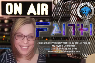 My Psychic Connection with Host Journey Ryan & Psychic Guest Gifts Of Faith