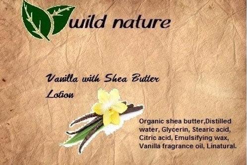 Wild Nature Vanilla & Shea Butter