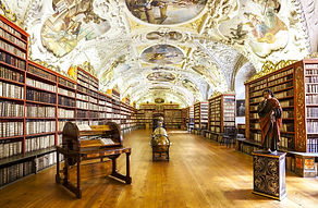The-Theological-Hall-in-Strahov-Monaster