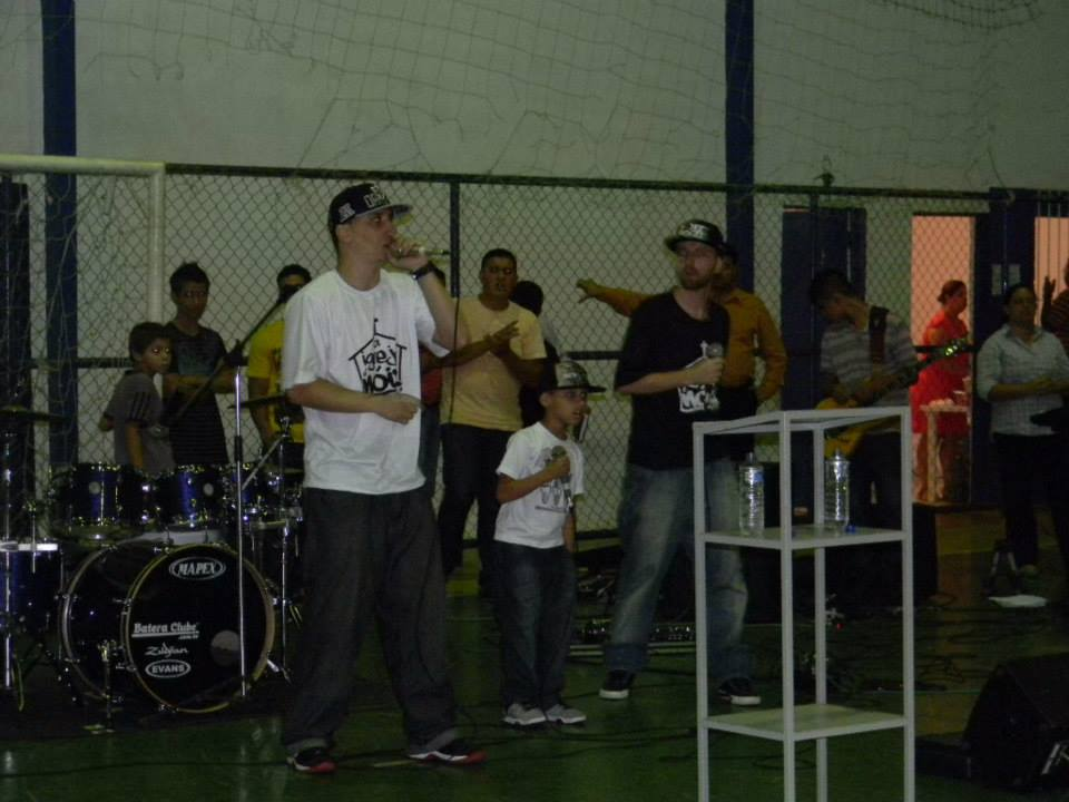 Evangelismo no Rebourgeon - MG