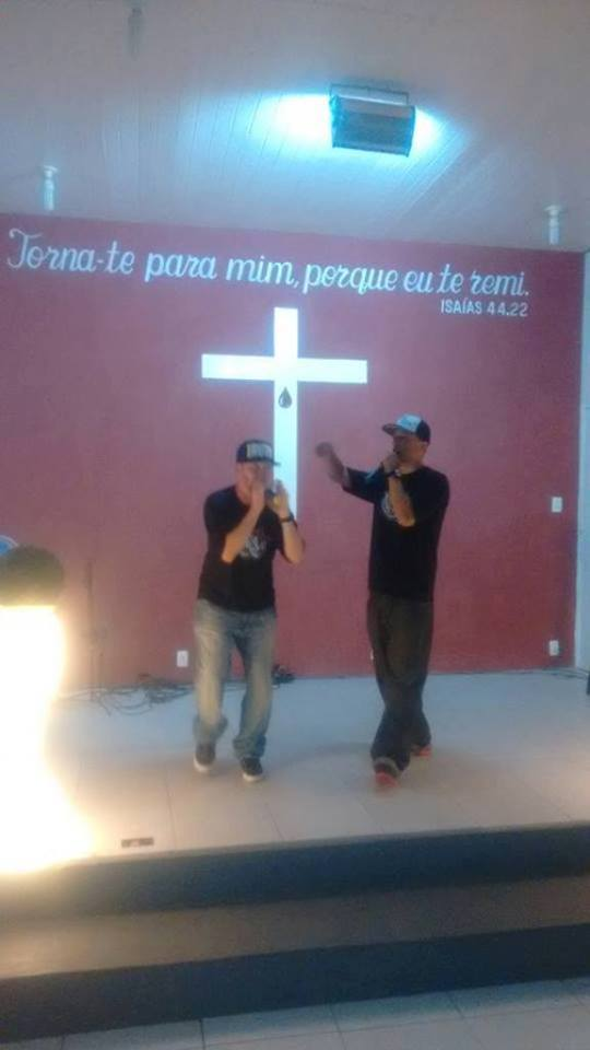 Na Missão em Itajubá - MG