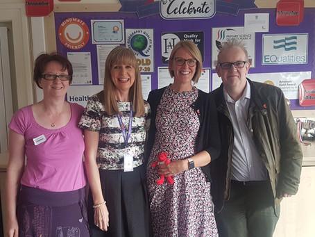 Alwoodley Primary School backs Elliot's Footprint