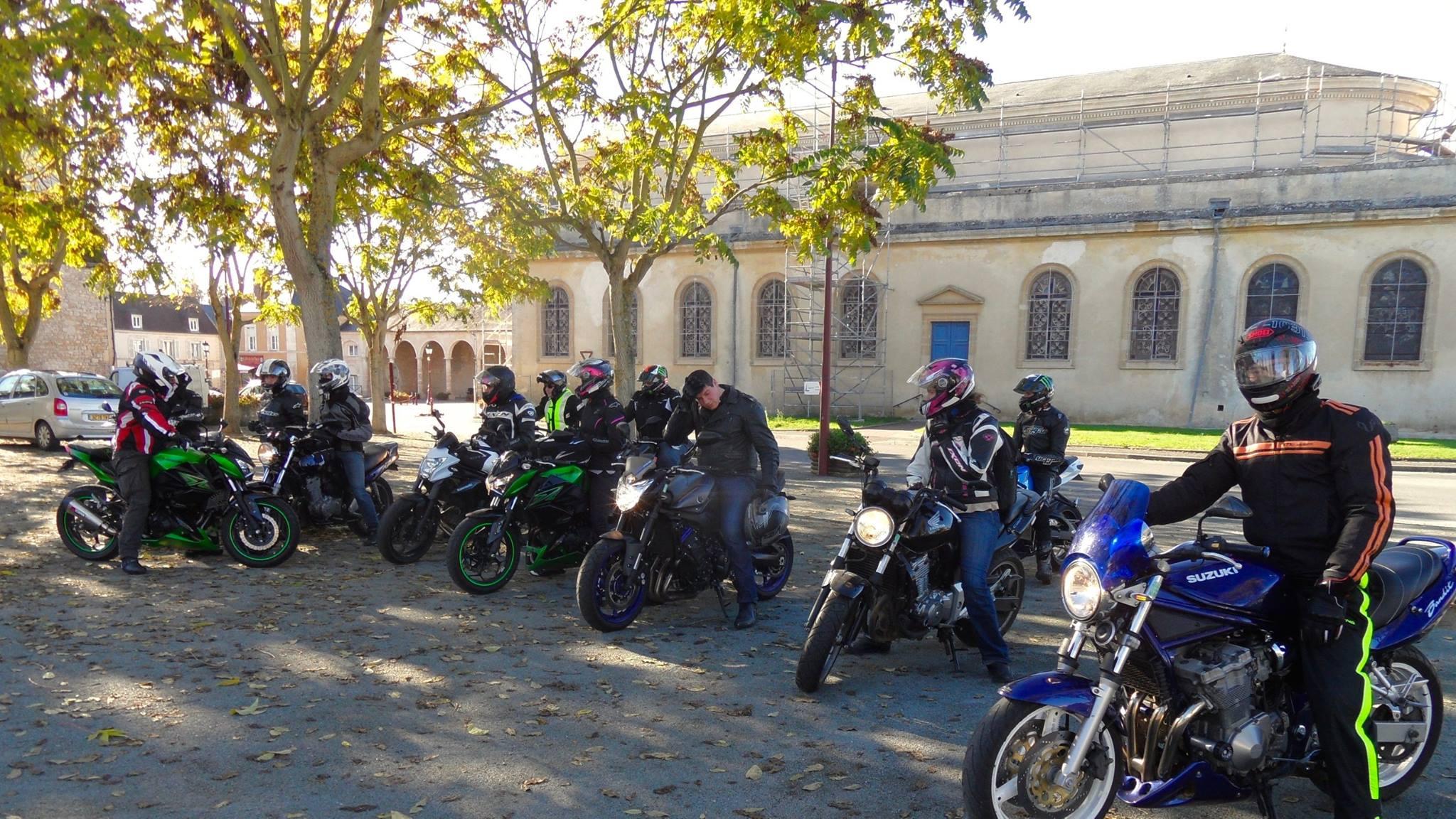 Balade moto dans l'Orne
