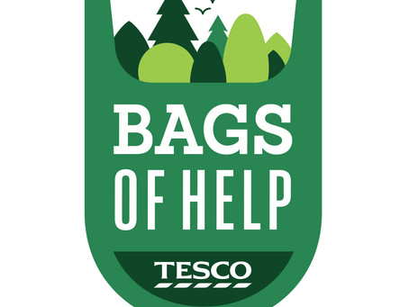 Tesco gives bags of help to Elliot's Footprint.