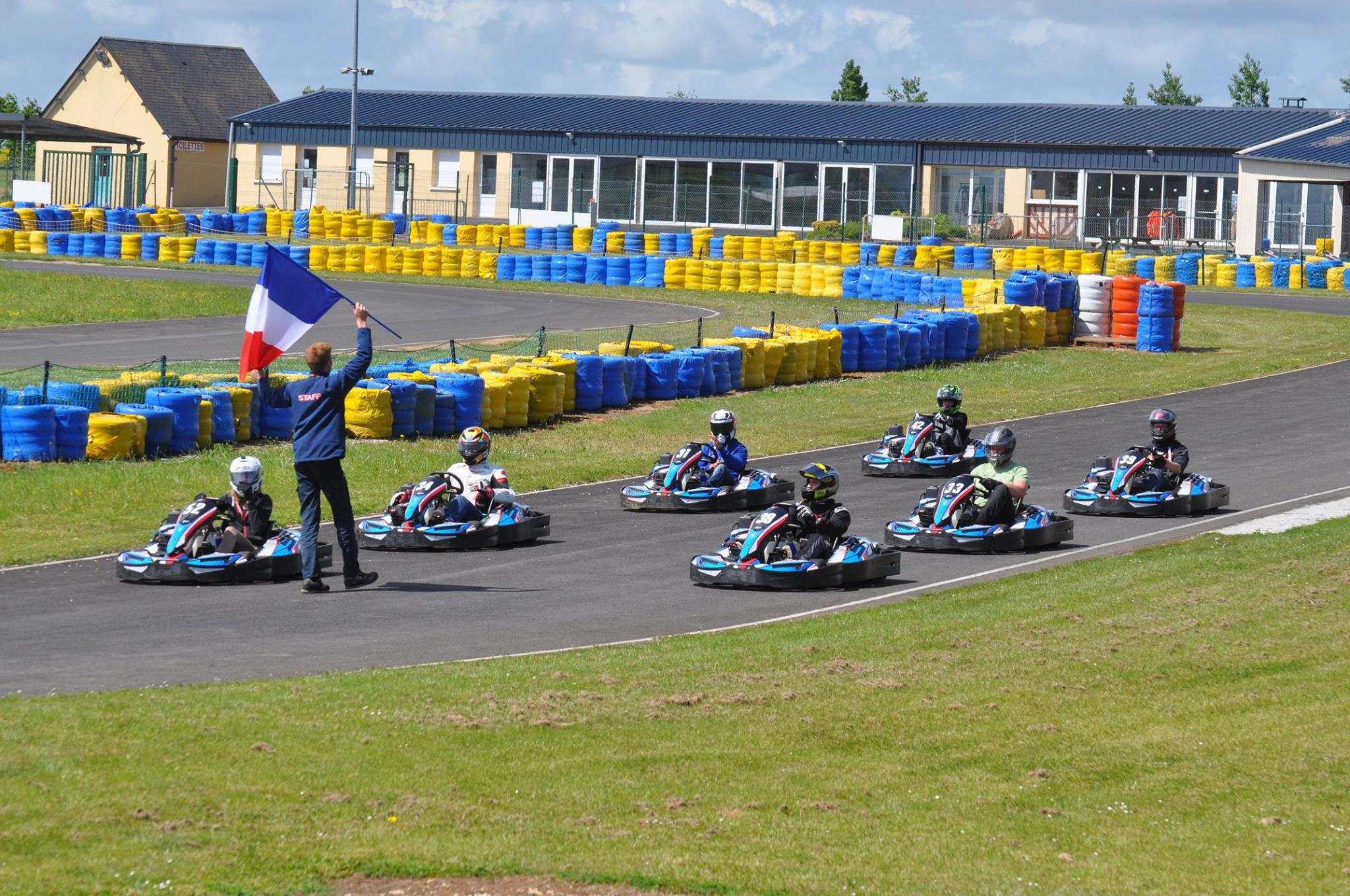 Motards Argentan - karting