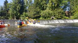 Journée cohésion kayak