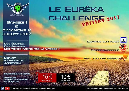 Eurêka challenge - Motards Argentan Club
