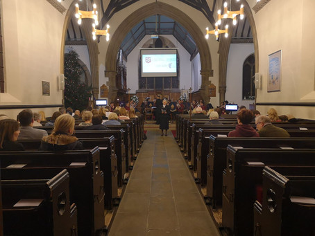 Over £650 raised at Carol Concert