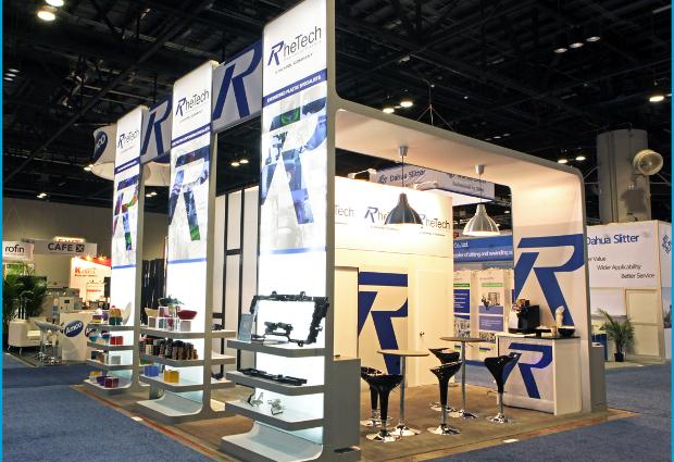 Exhibit Booth Design/Branding & Signage - b