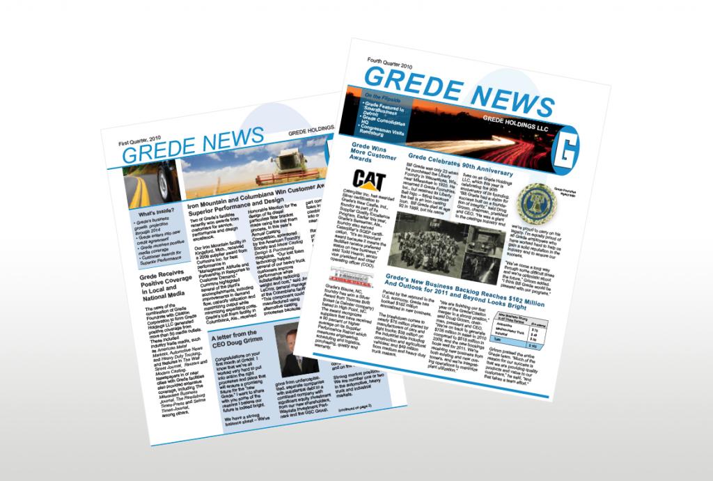 Newsletter Copywriting & Design - b