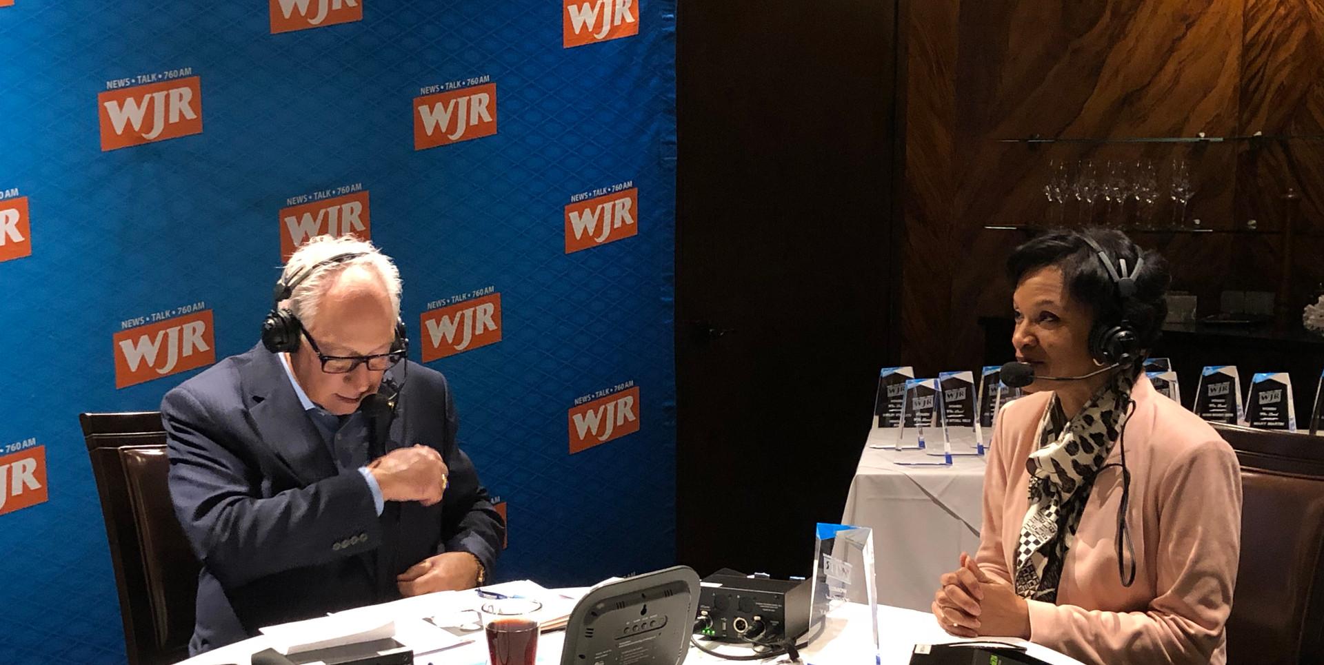 Media Coverage - Paul W. Smith, WJR Radio
