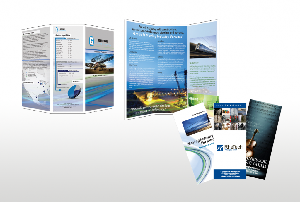 Brochure Copywriting & Design - b