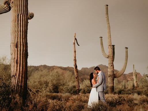 Phoenix, Arizona Elopement Wedding Photographer