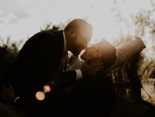 Albuquerque Bosque Wedding | Adrian + Iian