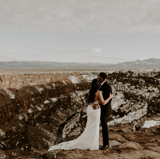 Taos, New Mexico Elopement Wedding Photographer