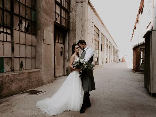 Albuquerque Rail Yards Wedding