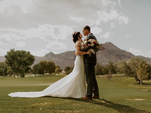 JORDAN + JASON || Socorro, New Mexico Wedding