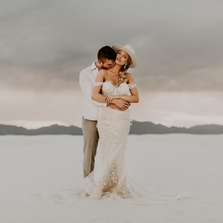 White Sands National Park, Elopement Wedding Photographer