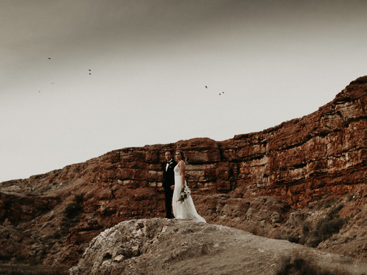 Roswell, New Mexico || Beautiful Red Desert Wedding