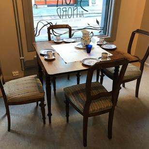 3 biedemeier stoler