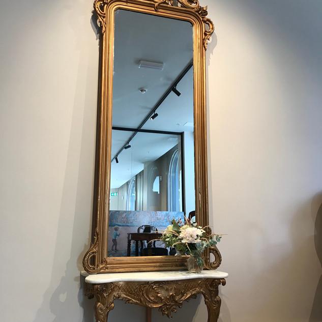 Stort speil - Rokokko