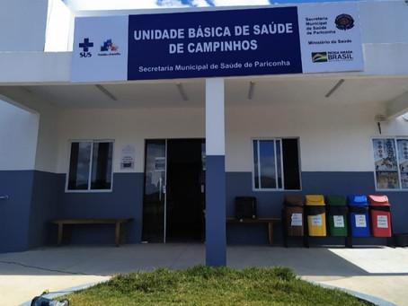 Prefeito de Pariconha entrega mais uma Unidade de Saúde em plena pandemia