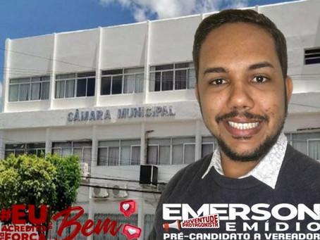 """""""Câmara de Delmiro Gouveia precisa de alternância e inovação"""", afirma pré-candidato Emerson Emídio"""