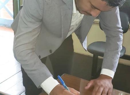 Vereador Horlandinho filia-se ao Partido Progressista do prefeito Zé Carlos
