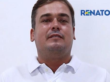 Renato Torres faz desafio aos adversários políticos, após ser alvo de Fake News