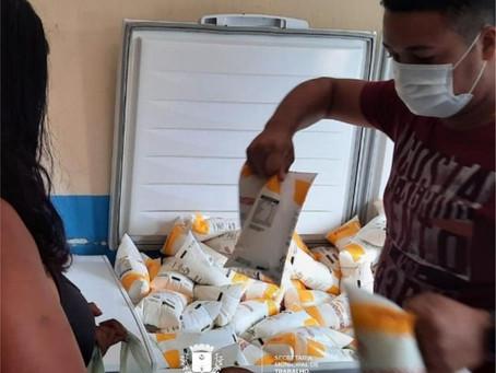 População de Água Branca comemora a retomada do programa do leite no município
