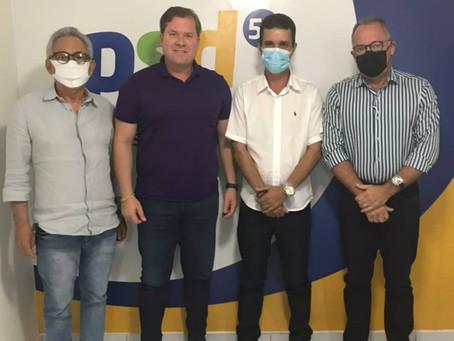 Prefeito de Pariconha faz levantamento técnico e busca recursos com o Deputado Federal Marx Beltrão