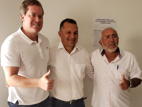 Marx Beltrão fortalece pré-candidatura de Paulo Campos em Água Branca