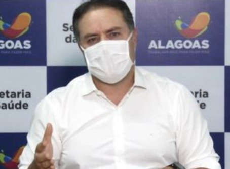 """""""Candidato que provoca aglomeração não se preocupa com o cidadão"""", diz Renan Filho"""
