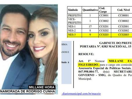 Pressionada, Millane Hora recua de nomeação em secretaria de apadrinhado de Rodrigo Cunha