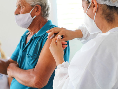 Delmiro Gouveia atinge 97% dos idosos acima de 60 anos vacinados com a primeira dose contra a COVID-